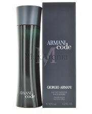 Armani Code by Giorgio Armani for Men Eau De Toilette 4.2 OZ 125 ML Spray