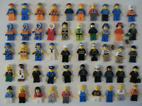 Lego Mini Figure minifigure minifig men bundle lot of 50 official original