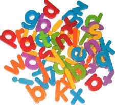 Plástico Magnético minúsculas del alfabeto Letras (paquete De 52)