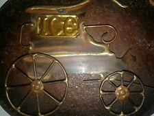 Copper/Brass Old Car& Truck Plaques