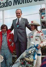 Arturo Merzario Firmato a Mano 12x8 PHOTO le Mans.