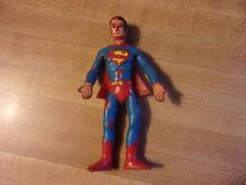 """VINTAGE 1973 BENDABLE """"SUPERMAN"""" MEGO WORLDS GREATEST SUPER HEROES Hong Kong"""