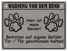 Warnung Vor Dem Hund Schilder Hundeschild Warnschild Warnung Achtung Vorsicht