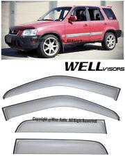 For 97-01 CRV WellVisors Side Window Visors Premium Series Rain Guard