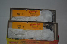 2 Roundhouse 3187 Dubuque Packing Co 36' Meat Reefer Ho Scale Kit