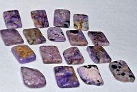 Charoite Tumbled Natural Stone Free Form Cabochon Crystal Quartz Healing
