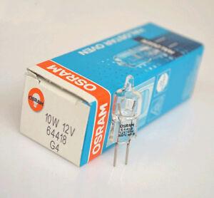 OSRAM 64418 12V10W G4 Backofen 300° Oven light bulb  Optical Instrument bulbs