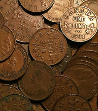 1931 CANADA SMALL CENT ONE -RANDOM- COIN FROM THE PILE