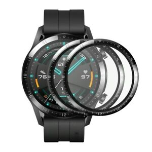 (2 Pack) Full Cover Screen Protector For Huawei Watch GT 2 46mm