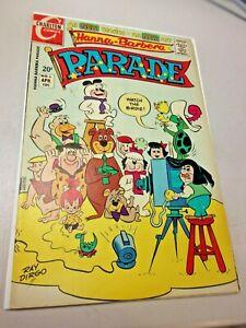 Hanna Barbera Parade #6 VF Condition Charlton April 1972 Yogi Bear Flintstones