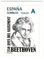 Sello Barnafil 2020 nº 12 Beethoven 250 Años de su Nacimiento sellos España