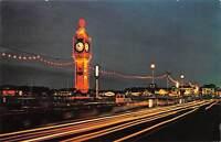 uk10267 the illuminations weymouth uk by night