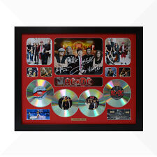 AC/DC Signed & Framed Memorabilia - 4 CD - Red - Limited Edition - ACDC