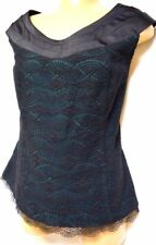 plus sz S-M / 18 TS TAKING SHAPE EVENT WEAR Origami Bodice Top lacy NWT! rrp$160