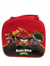 Angry Birds Insulated Lunch Bag w/ Shoulder Strap & Water Bottle for School Kids