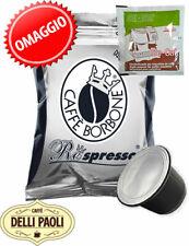 Caffè Borbone Respresso miscela Nera box 200 capsule comp. Nespresso + 1 Axor