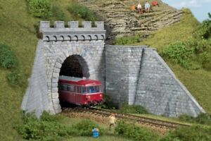 HO Scale Buildings - 11342 - Tunnel Portals - Single Track