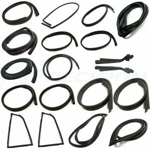 New Precision Weatherstripping Seal Kit / FOR LISTED DATSUN 240Z 260Z 280Z COUPE