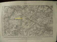 Carte d'État-Major Amiens Sud-Ouest 1889