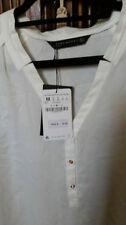 ZARA Button Down Shirt Regular Tops & Blouses for Women