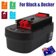 Battery For 18V Black Decker Firestorm 3.0Ah 244760-00 A1718 A18 HPB18 HPB18-OPE