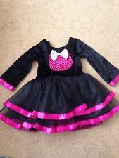 M&s Enfant Robe de Fantaisie-Chat Noir Robe. 1-2 ans.