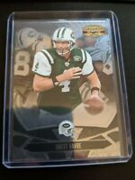 2008 Donruss Gridiron Gear Brett Favre Jets card #67 Foil Insert