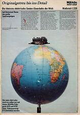Prospekt 1974 Märklin Mini Club H0 Spur1 Sprint Metallbaukasten brochure Marklin