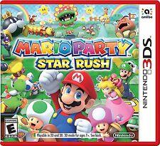 Mario Party Star Rush (Nintendo 3DS) Brand New