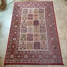 IKEA Valby Ruta Rug Rug Persian Morocco Oriental Red 133x195cm made in Egypt 4x6
