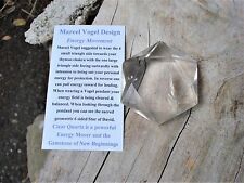 Clear Quartz Star of David - Heart Chakra - Balance - Intuition - Protection !!!