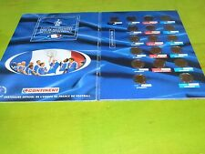COLLECTION MEDAILLES EQUIPE DE FRANCE - CAP SUR L'euro 2000 comme neuf!!!!!!!!!!