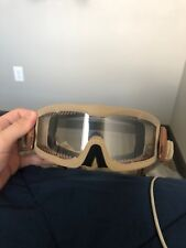 LANCER TACTICAL AIRSOFT VENTED SAFETY GOGGLES Glasses Eye Wear Googles TAN