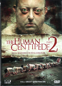 The Human Centipede 2 , Color , Unrated Director's Cut , small Hardbox  , new
