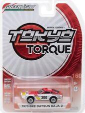 NEW 2017 Greenlight TOKYO TORQUE 1973 BRE DATSUN BAJA Z RALLY RACE CAR mint card