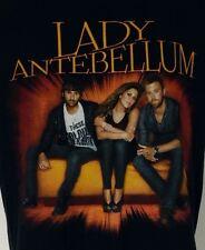 "Lady Antebellum Black Concert T-Shirt S 2010 ""Need You Now"" Tour"