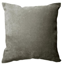 Ma18a Ash Grey Velvet Style Blend Cushion Cover/Pillow Case*Custom Size