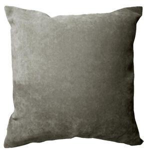 Ma18a Ash Grey Velvet Style Blend Cushion Cover/Pillow Case*Custom Size