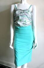 ROBERTO CAVALLI CLASS NWT Floral Jersey Dress Sz IT 42 US 6