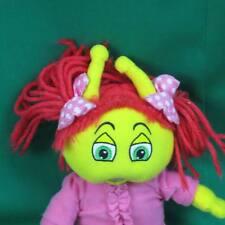 2006 PINK YELLOW MY BED BUGS TV SHOW BEDBUGS WOOZY GIRL PLUSH STUFFED ANIMAL