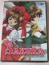 Cardcaptor Sakura TV 3-DVD Complete Collection Episodes 1-70 Anime Series New!