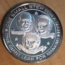 New listing Apollo 11 Silver Medal from Lincoln Mint (#X79)