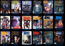 Heavy Metal  Magazine dark fantasy/sci-fI, erotica and adventure comics