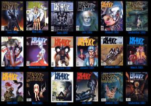 Heavy Metal  Magazine dark fantasy/sci-fI, erotica and adventure comics