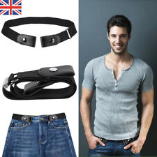 Buckle-Free Elastic Belts Mens Womens Invisible Belt for Jeans No Bulge Hassle