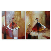 Original Hand Paint Canvas Oil Painting Home Decor Wall Art Abstract Ballet Girl