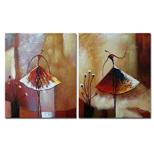 Framed Abstract Hand Paint Canvas Oil Painting Home Decor Wall Art Dancing Girls