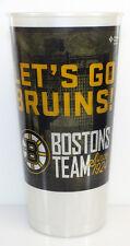 "Boston Bruins ""LET'S GO BRUINS"" Plastic Souvenir Drinking Cup Bergeron Marchand"