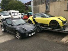 Smart Roadster convertible roof assembly