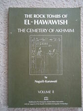 ROCK TOMBS OF EL-HAWAWISH CEMETERY OF AKHMIM VOLUME TWO NAGUIB KANAWATI SIGNED